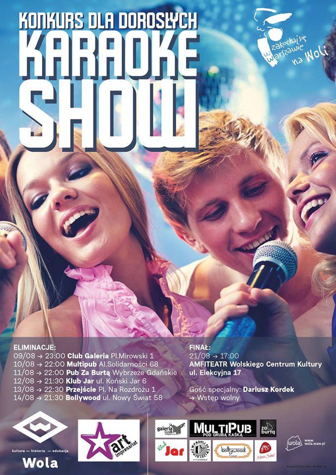 Karaoke SHOW – konkurs wokalny dla dorosłych